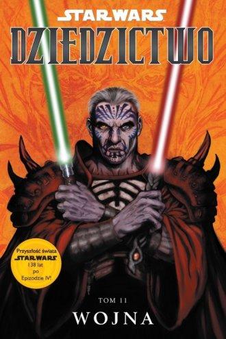 Star Wars: Dziedzictwo. Wojna. - okładka książki