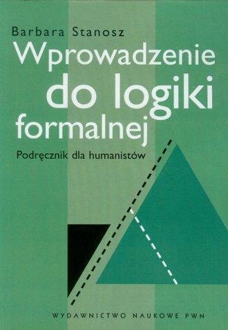 Wprowadzenie do logiki formalnej. - okładka książki