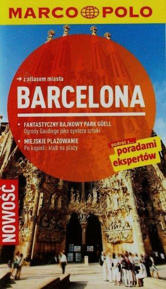 Barcelona. Przewodnik Marco Polo - okładka książki