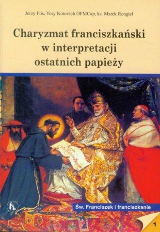 Charyzmat franciszkański w interpretacji - okładka książki