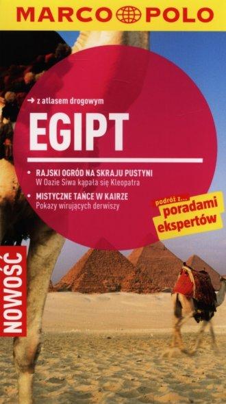 Egipt. Przewodnik Marco Polo z - okładka książki
