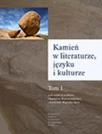 Kamień w literaturze, języku i - okładka książki