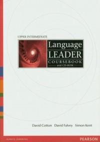 Language Leader. Upper Intermediate Coursebook (+ CD) - okładka podręcznika