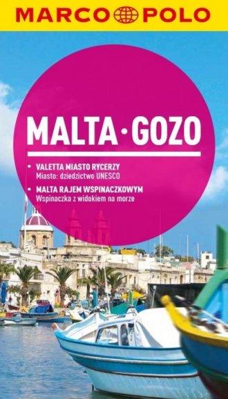Malta. Gozo. Przewodnik Marco Polo - okładka książki