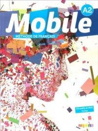 Mobile A2 podręcznik (+ CD i DVD) - okładka podręcznika