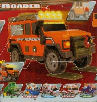 Pojazd terenowy - zdjęcie zabawki, gry