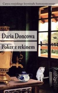 Poker z rekinem - okładka książki