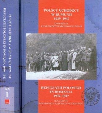 Polscy uchodźcy w Rumunii 1939-1947. - okładka książki