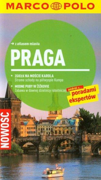 Praga. Przewodnik Marco Polo z - okładka książki