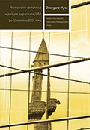 Promowanie demokracji w polityce - okładka książki