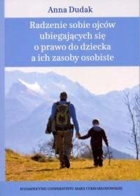 Radzenie sobie ojców ubiegających - okładka książki