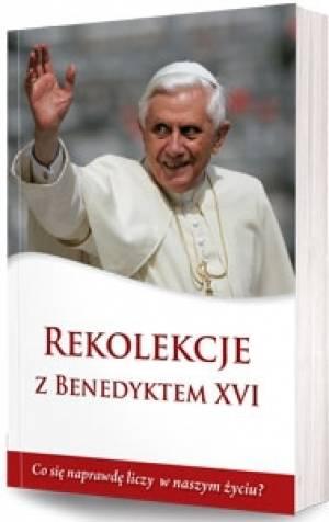 Rekolekcje z Benedyktem XVI - okładka książki
