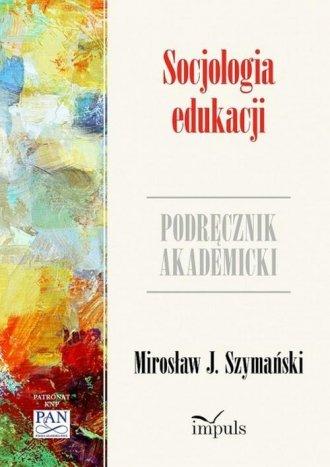 Socjologia edukacji - okładka książki