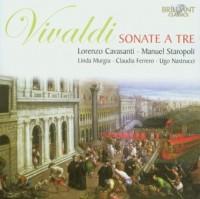 Sonate a Tre - Antonio Vivaldi - okładka płyty
