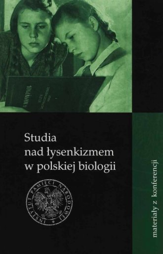 Studia nad łysenkizmem w polskiej - okładka książki