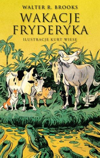 Wakacje Fryderyka - okładka książki