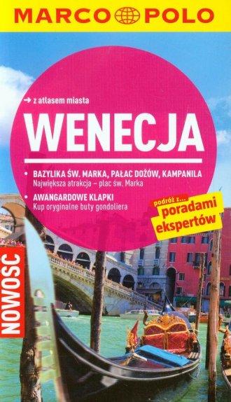 Wenecja. Przewodnik Marco Polo - okładka książki