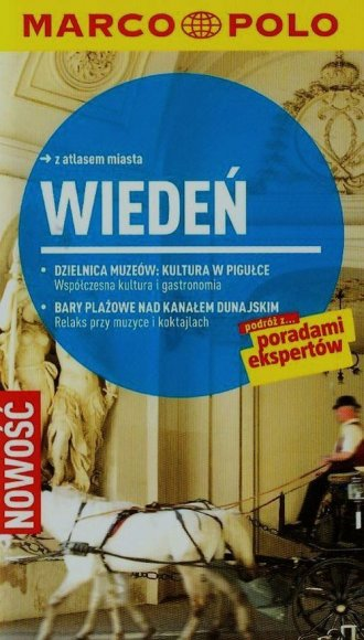 Wiedeń. Przewodnik Marco Polo z - okładka książki