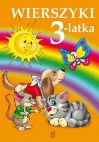 Wierszyki 3-latka - okładka książki