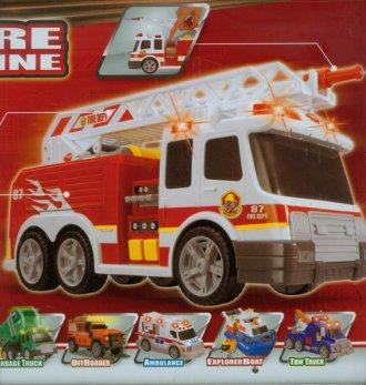 Wóz strażacki (duży) - zdjęcie zabawki, gry