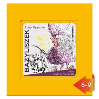 Bazyliszek - pudełko audiobooku