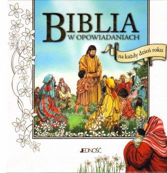 Biblia w opowiadaniach na każdy - okładka książki