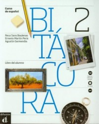 Bitacora A2. Podręcznik (+ CD) - okładka podręcznika