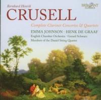 Complete Clarinet Concertos and Quartets - okładka płyty