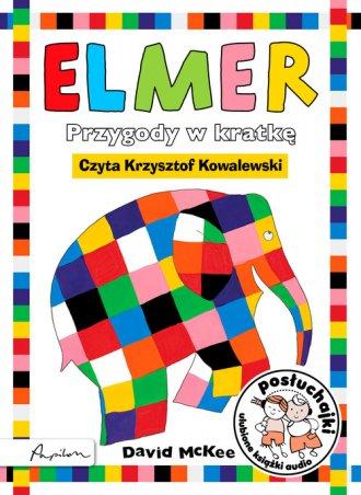 Elmer. Przygody w kratkę (CD mp3) - pudełko audiobooku
