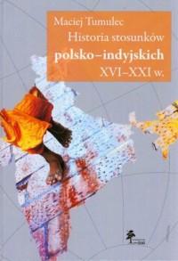Historia stosunków polsko-indyjskich - okładka książki
