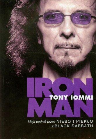 Iron Man. Moja podróż przez Niebo - okładka książki