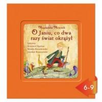 O Jasiu, co dwa razy świat okrążył (CD mp3) - pudełko audiobooku