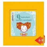 O księżniczkach, rycerzach i czarodziejach (CD mp3) - pudełko audiobooku