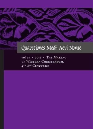 Quaestiones Medii Aevi Novae. Vol. - okładka książki