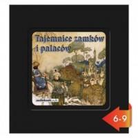 Tajemnice zamków i pałaców - pudełko audiobooku