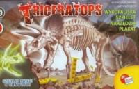 Triceratops. Szkielet świeci w ciemności - zdjęcie zabawki, gry