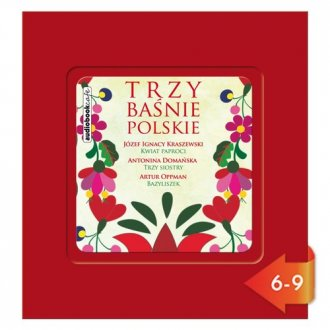 Trzy baśnie polskie (CD mp3) - pudełko audiobooku