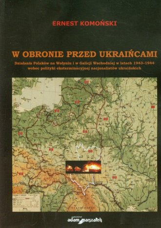 W obronie przed Ukraińcami. Działania - okładka książki