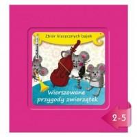 Wierszowane przygody zwierzątek (CD mp3) - pudełko audiobooku