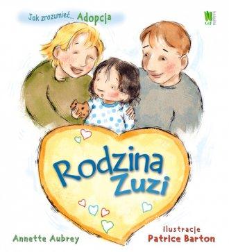 Adopcja. Rodzina Zuzi - okładka książki