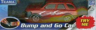 Auto terenowe (czerwone) - zdjęcie zabawki, gry