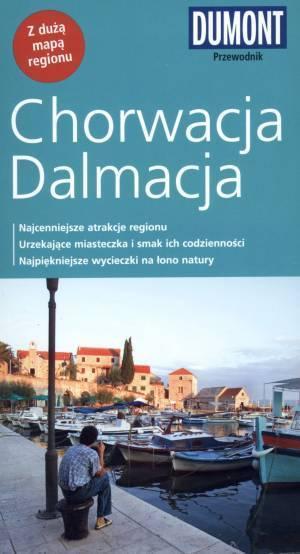 Chorwacja Dalmacja. Przewodnik - okładka książki