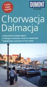Chorwacja Dalmacja. Przewodnik (+ mapa) - okładka książki