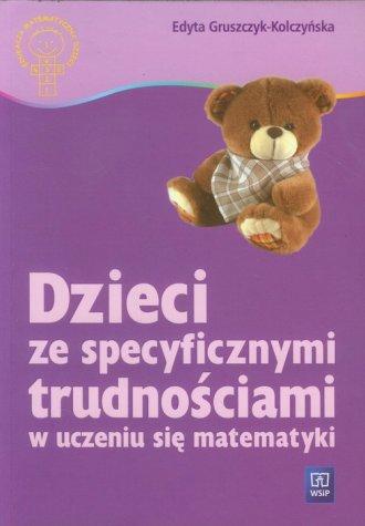 Dzieci ze specyficznymi trudnościami - okładka książki
