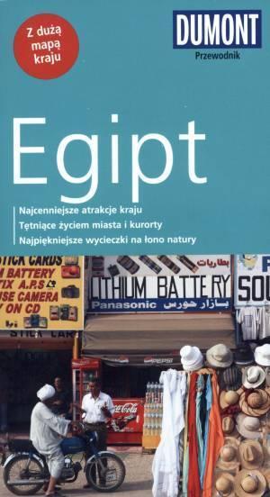Egipt. Przewodnik (+ mapa) - okładka książki