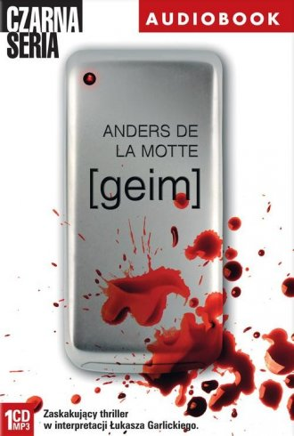 geim (CD mp3) - pudełko audiobooku