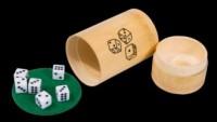Gra w kości (6 kostek bambus) - zdjęcie zabawki, gry