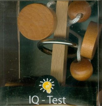 IQ-Test. Uwolnij pierścień 2 (puzzle - zdjęcie zabawki, gry