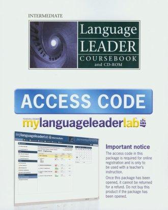 Language Leader Intermediate Coursebook - okładka podręcznika