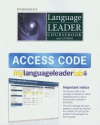Language Leader Intermediate Coursebook + CD i kodem dostępu do strony internetowej - okładka podręcznika